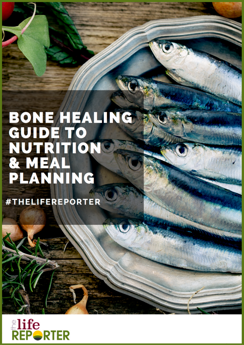 bone healing guide to nutrition and meal planning